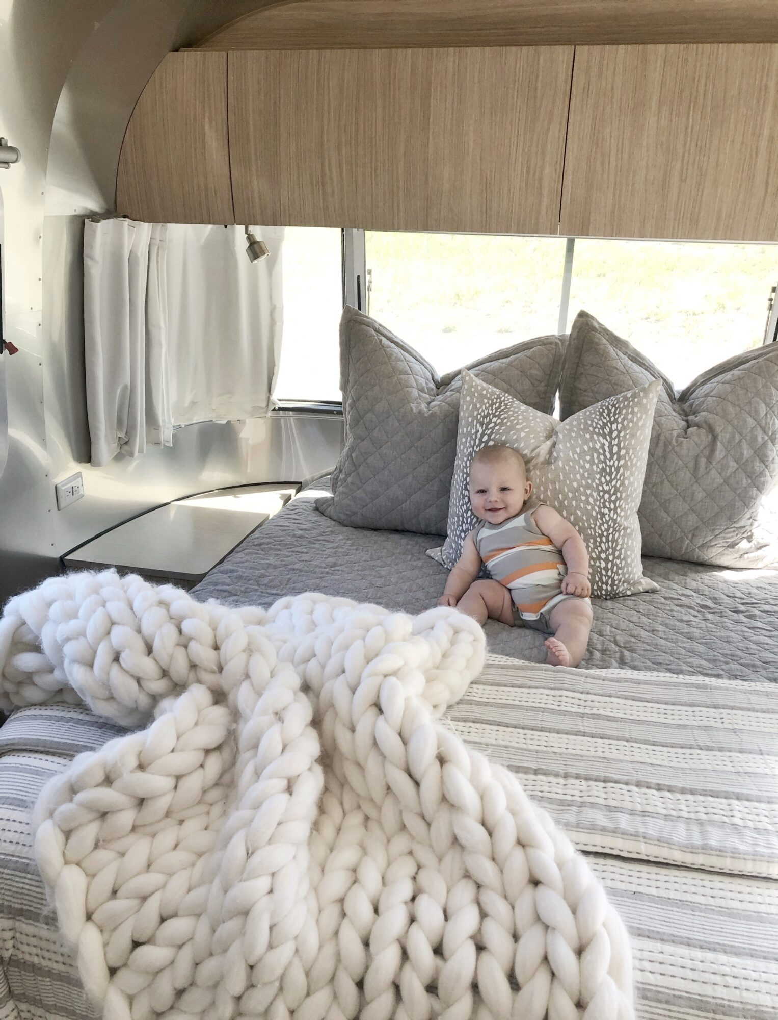 rv travel with a baby