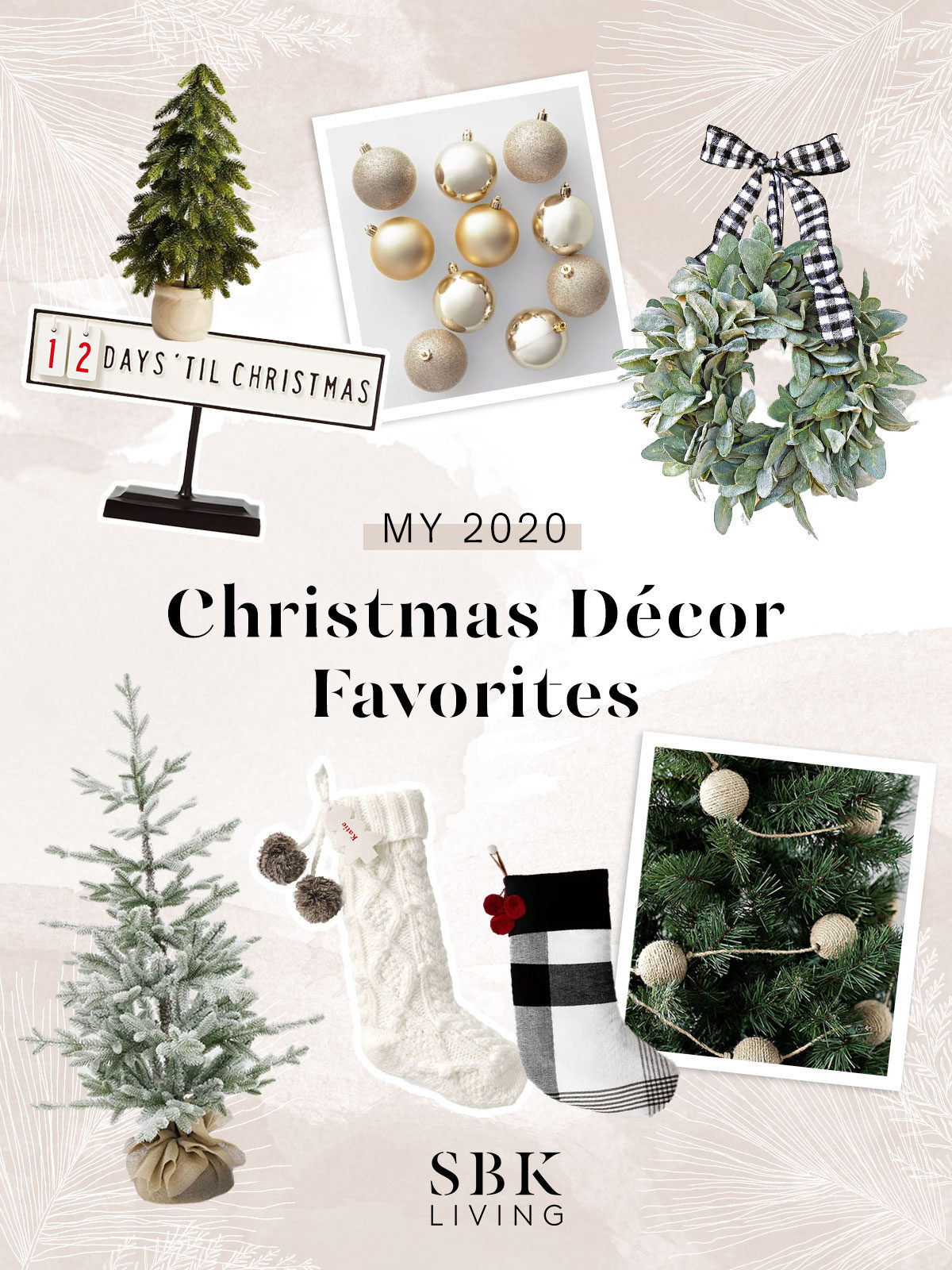 christmas decor favorites