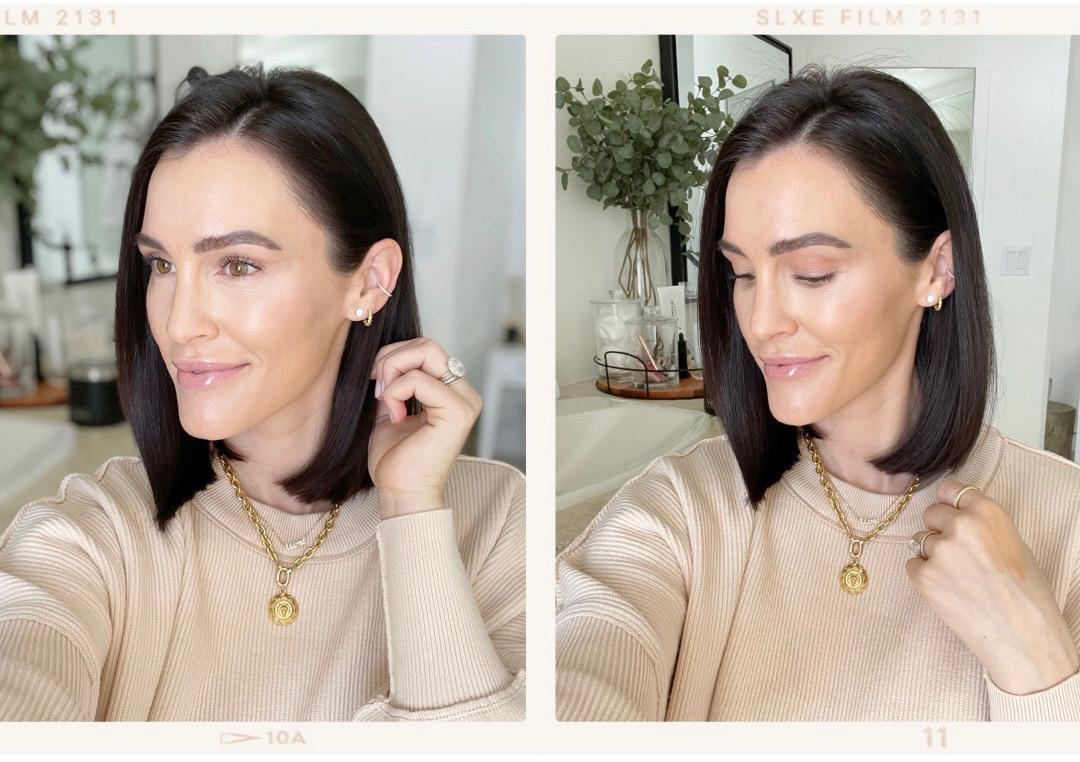 pregnancy makeup routine