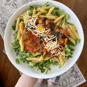 vegetarian gluten free pasta recipe