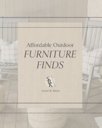 affordable outdoor furniture finds