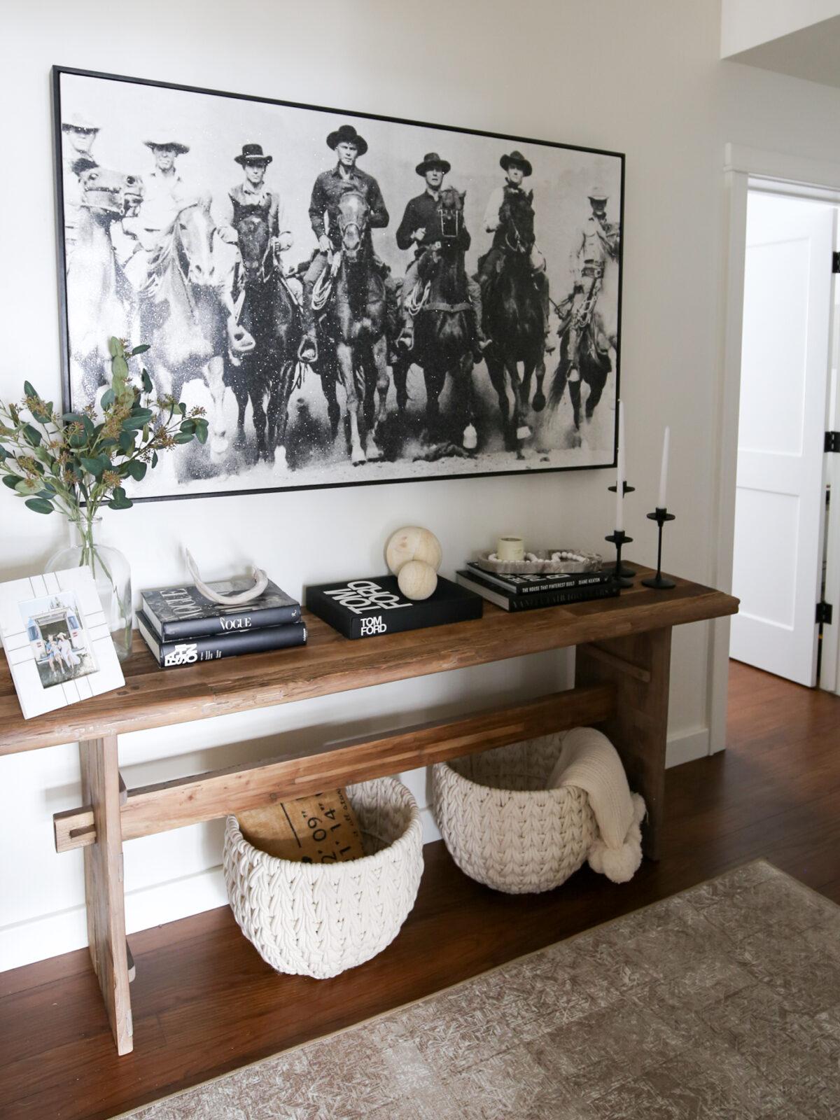 entryway coffee table
