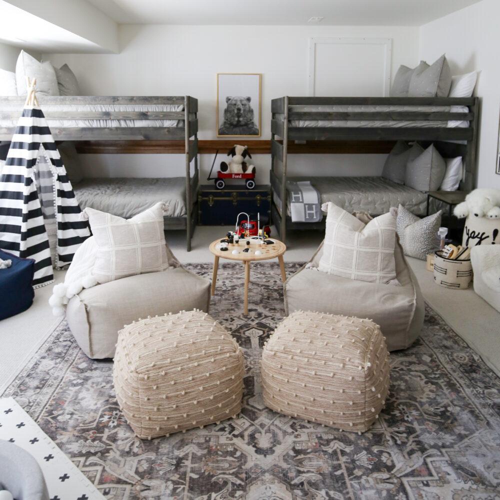 bunk play room