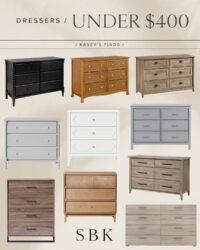 Dressers under 400
