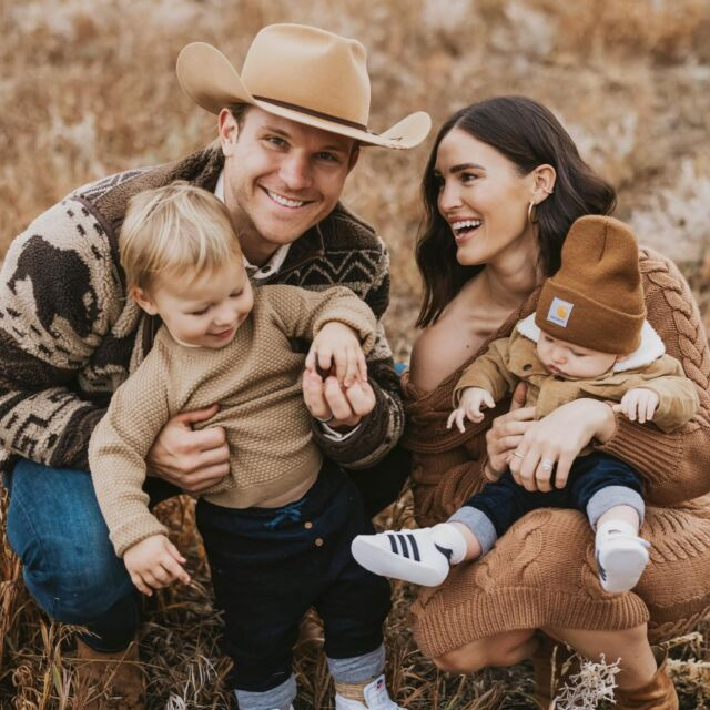 F A M \ My little Idaho fam bam🥰 Another one from our fall photo sesh! Just got em all and they're perf🍂🤍🍂 Swipe right for a look at a few of my faves! Ford in the bronco… dead🚗❤️  I'll be sharing a bunch on SBKliving.com this week and family photo sesh outfit ideas! I will include items like my cable knit sweater dress - legit a standout all time fave!! Unfortunately Luke's hat is one of a kind and his Buffalo jacket is an oldie. NOT TO WORRY, I'll post similar looks!🤠  #familyphotos #familypictures #idaho #fall #fallfashion #falloutfits #sunvalleyidaho  #liketkit #LTKfamily #LTKstyletip #LTKSeasonal @shop.ltk http://liketk.it/3pvF0